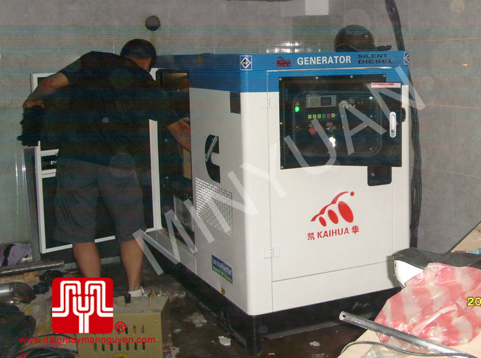 The set of 60KVA CUMMINS soundproof generator was delivered to customer in Hung Yen province on 2010 June 13th