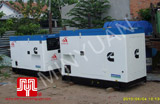 The 02 set of Cummins soundproof generators were delivered to customer in Ho Chi minh on 2010 June 4th