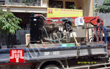 The set of 250KVA Cummins opentype generator was delivered to customer in Ha Noi on 2010 September 18th