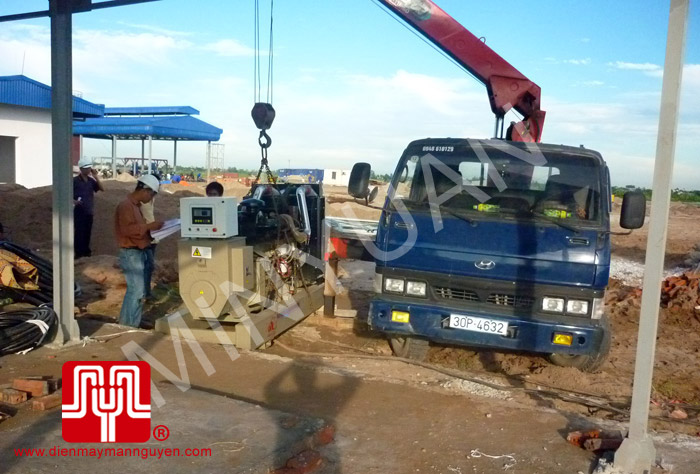 The set of 250KVA Cummins generator was delivered to Viet Nam oil & gas Company for Thai Binh profect on 2010 July 25th