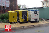 The 03 set of Cummins generators were delivered to customer in Ho Chi Minh on 2010 July 28th