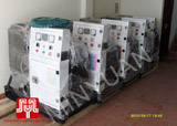 The 05 set of Shangchai generators were delivered to customer in Ha Noi on 2010 September 17th