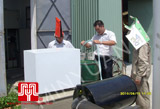 Install generator for customer in Hai Phong on 2010 June 16th