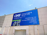 Man Nguyen join The 7th Cambodia Int'l Machinery Industry Fair