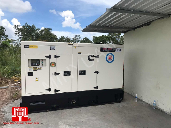 The Set of 100kva Cummins generator was delivered on 03/10/2020