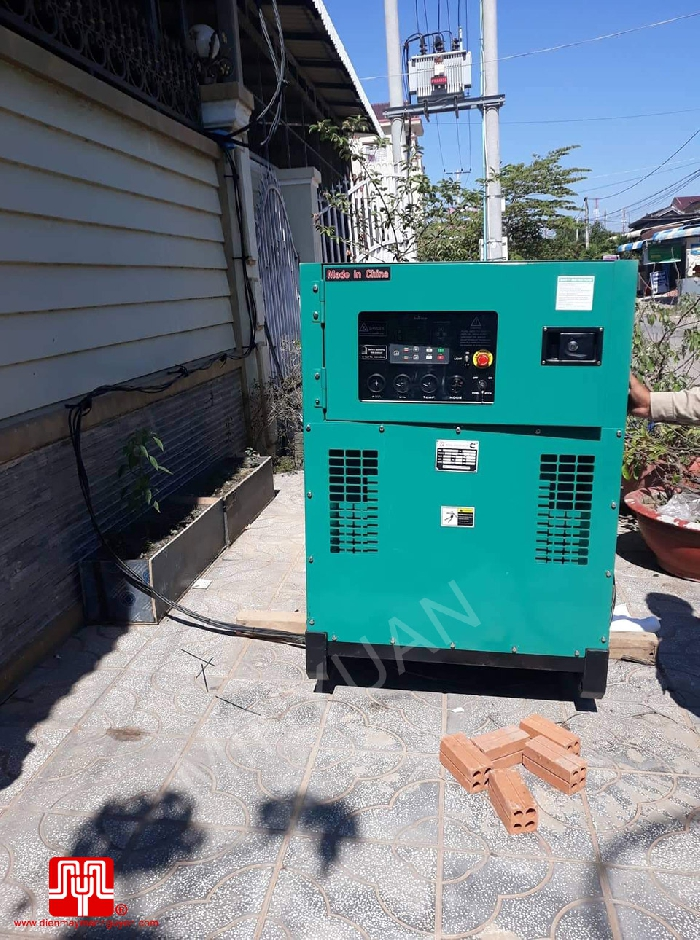 The Set of 100kva Cummins generator was delivered on 10/12/2019