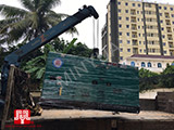 The Set of 100kva Cummins generator was delivered to Cambodia on 20/05/2018