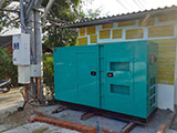 The Set of 100kva Cummins generator was delivered on 20/11/2019