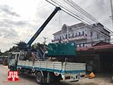 Máy phát điện Cummins 100kva bàn giao tại Cambodia ngày 29/10/2017