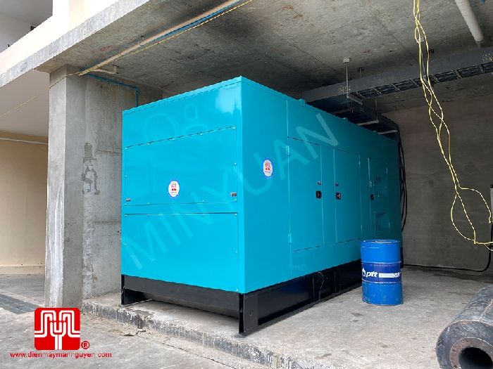 The Set of 1200kva Cummins generator was delivered on 03/08/2020