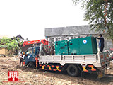 The Set of 120kva Cummins generator was delivered to Cambodia on 11/11/2017