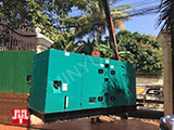 The Set of 120kva Cummins generator was delivered to Cambodia on 13/02/2018