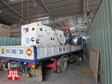 The Set of 120kva Cummins generator was delivered to customer in HCM on 16/02/2017