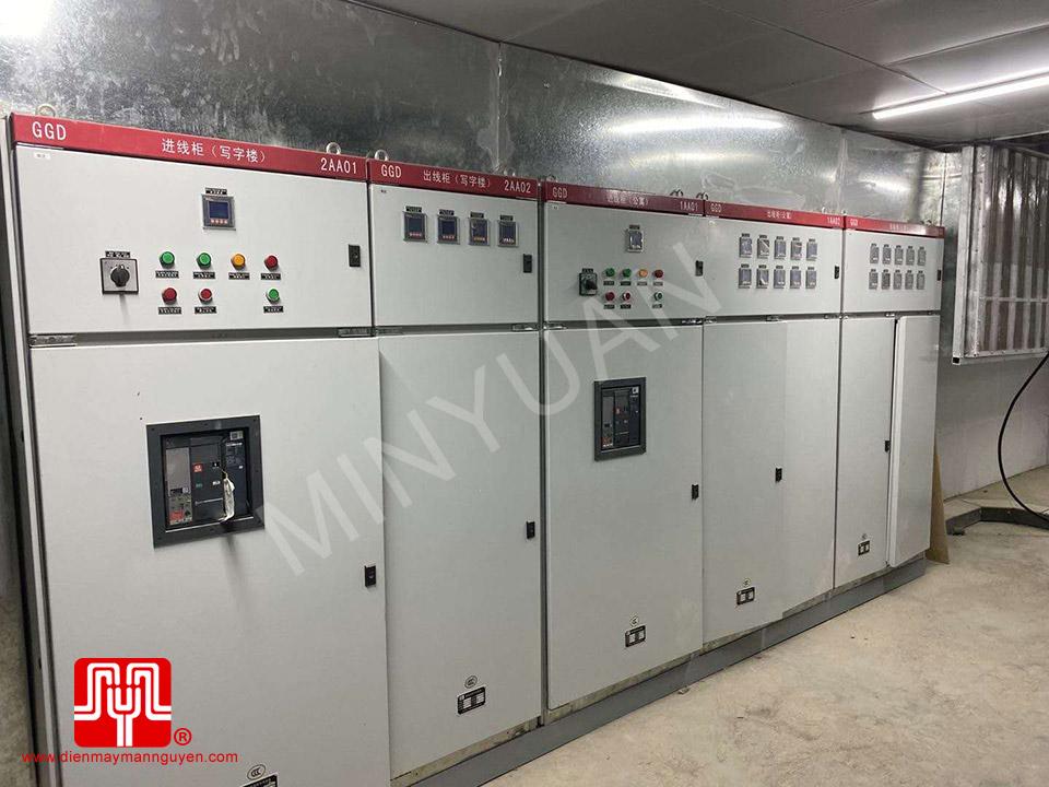 Máy phát điện Cummins 1250kva và 650kva bàn giao khách hàng