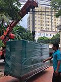 2018年07月03日交付柬埔寨客户140KVA康明斯静音机组