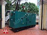 The Set of 140kva Cummins generator was delivered to Cambodia on 20/11/2017