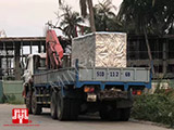 The Set of 140kva Cummins generator was delivered to HCM on 27/04/2018