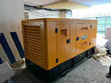 The Set of 180kva Cummins generator was delivered on 08/04/2019