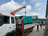 The Set of 180kva Cummins generator was delivered on 29/03/2019