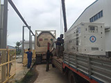 The Set of 200kva Cummins generator was delivered to Cambodia on 05/06/2018