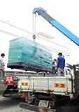 Máy phát điện Cummins 250kva bàn giao tại Cambodia ngày 08/10/2017