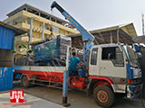 The Set of 375kva Cummins generator was delivered to Cambodia airport on 16/02/2017
