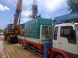 The Set of 450kva Cummins generator was delivered to Cambodia on 04/04/2017