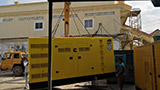 The Set of 450kva Cummins generator was delivered on 17/05/2019