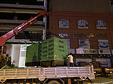 The Set of 500kva MTU generator was delivered on 28/09/2020