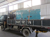 The Set of 50kva Cummins generator was delivered to customer in HCM on 15/06/2017