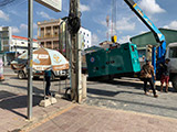 The Set of 60kva Cummins generator was delivered on 02/04/2019