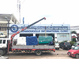 The Set of 60kva Cummins generator was delivered to Cambodia on 06/06/2018