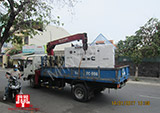 The Set of 60kva Cummins generator was delivered to customer in HCM on 14/01/2017