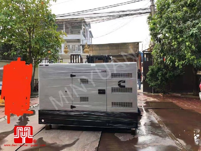 The Set of 60kva Cummins generator was delivered on 15/01/2020