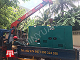 The Set of 60kva Cummins generator was delivered to Cambodia on 21/05/2018