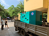 The Set of 60kva Cummins generator was delivered on 23/04/2019