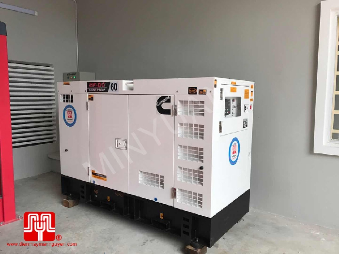 The Set of 60kva Cummins generator was delivered on 30/09/2020