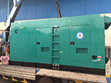 The Set of 625kva Cummins generator was delivered on 21/02/2019