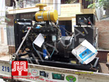 The set of Weichai opentype generator was delivered to customer in Ha Noi on 2010 March 23rd