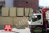 The 10 set of Shangchai generators were delivered to customer in Ho Chi Minh on 2010 July 5th