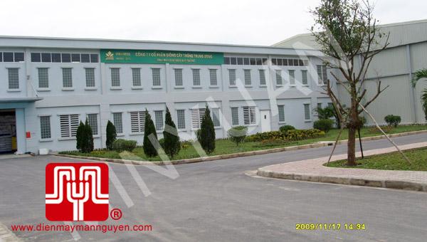 Tổ máy phát điện có vỏ SHANGCHAI bàn giao khách hàng Hà Nội ngày 17.11.2009