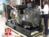 The set of 150KVA CUMMINS opentype generator was delivered to customer in Thai Binh province on 2010 March 20th