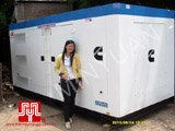 The set of 500KVA Cummins soundproof generator was delivered to customer in Ho Chi Minh on 2010 June 4th