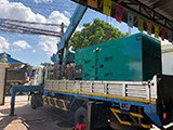 The Set of 250kva Cummins generator was delivered on 02/10/2019