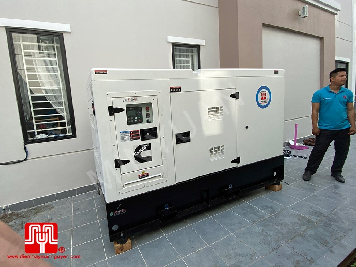 The Set of 40kva Cummins generator was delivered on 01/11/2019