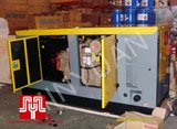 The set of Cummins soundproof generator was delivered to customer in Ho Chi Minh on 2009 December 24th