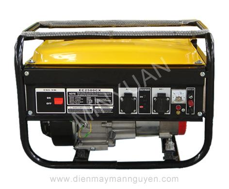 Tổ máy phát điện chạy xăng