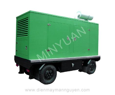 The mobile station series diesel generator set