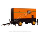 The mobile station series diesel generator set