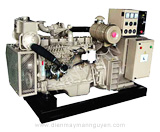 Marine  Cummins Diesel  Series Genset